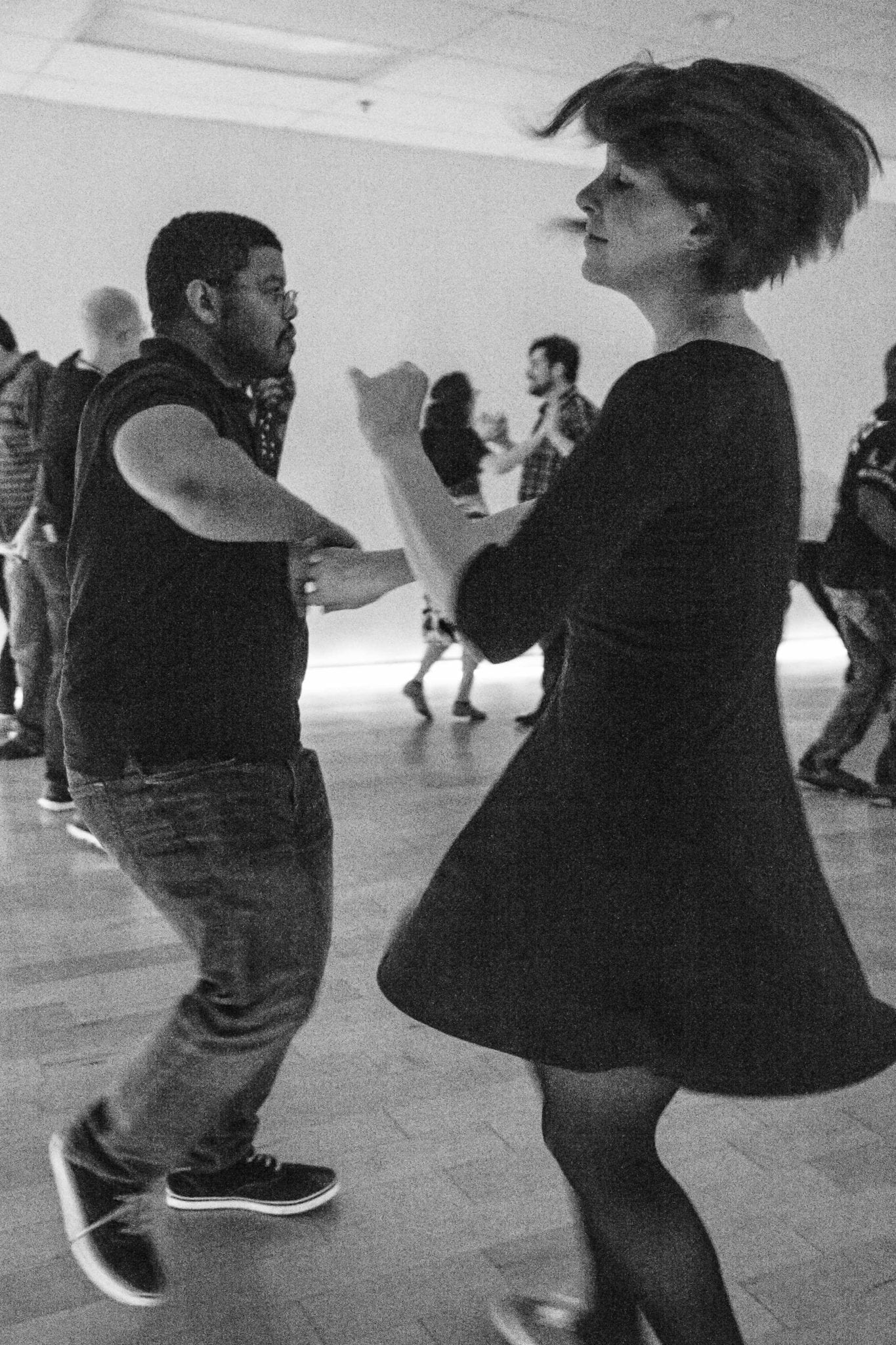 The anatomy of dance- Man and woman dancing - Photo Story - Cleverish