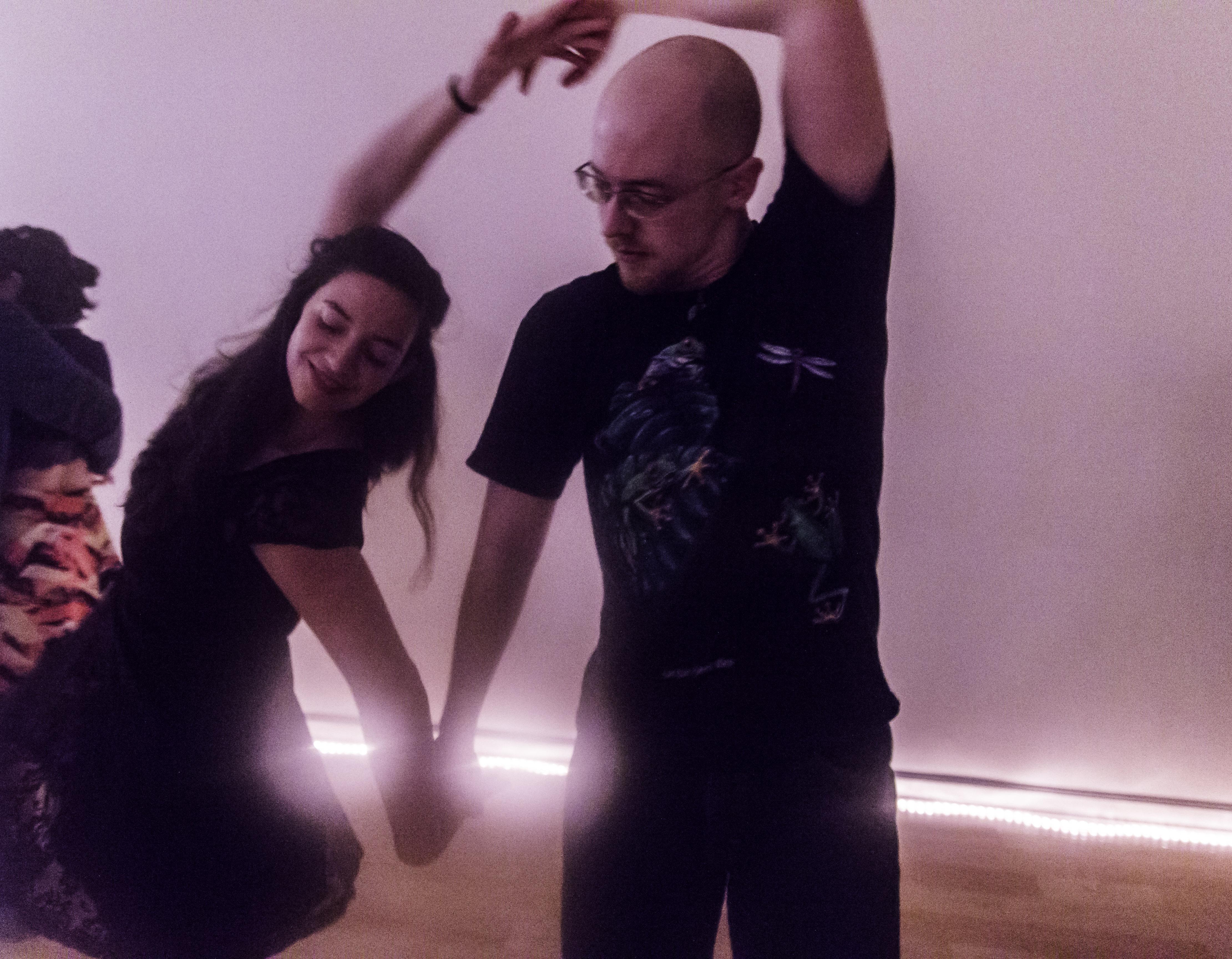The anatomy of dance- Man and woman dancing - Cleverish Magazine