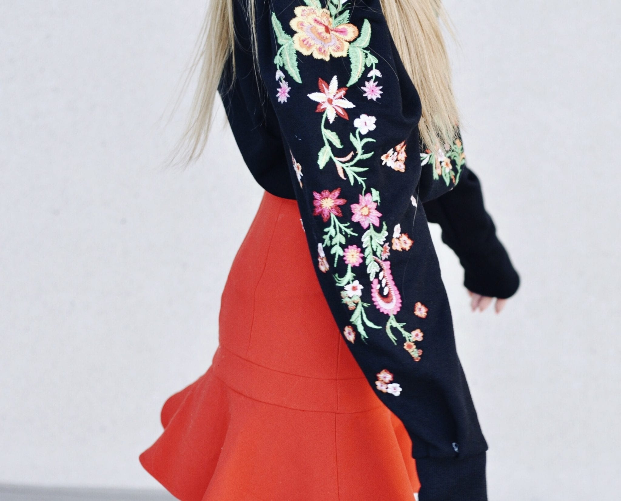 floral embroidery spring fashion trend Clever-ish magazine