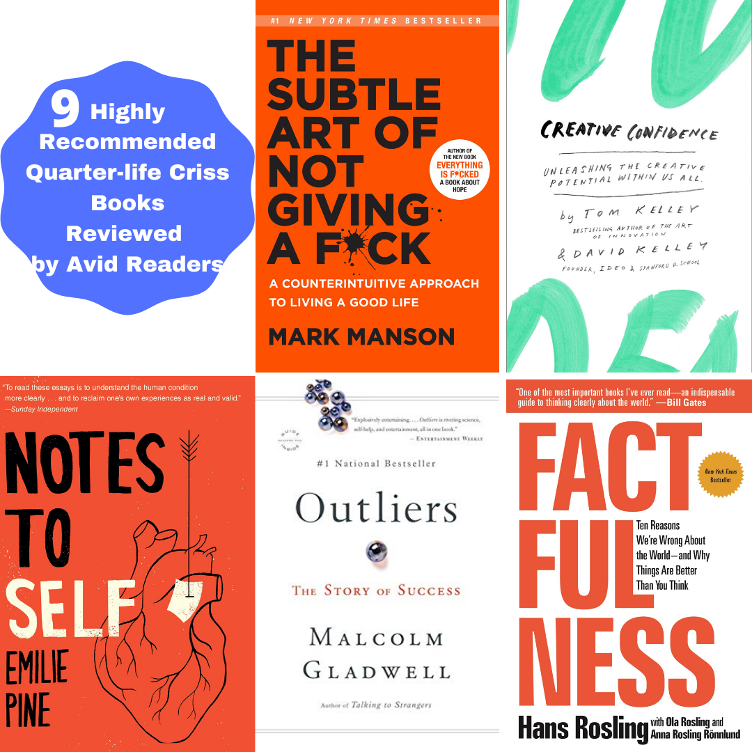 9 HIGHLY RECOMMENDED QUARTER-LIFE CRISIS BOOKS – REVIEWED BY AVID READERS